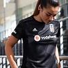 adidas Beşiktaş Damentrikot Schwarz 19-20
