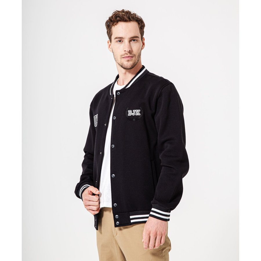 Beşiktaş Mens Black College Jacket 7920502