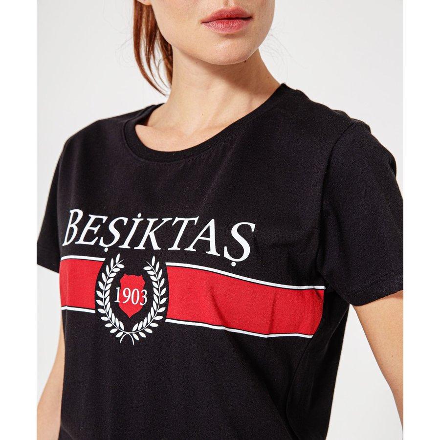 Beşiktaş Statement T-Shirt Damen 8920123 Schwarz