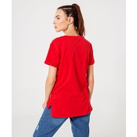 Beşiktaş Logo T-Shirt Dames 8920125 Rood