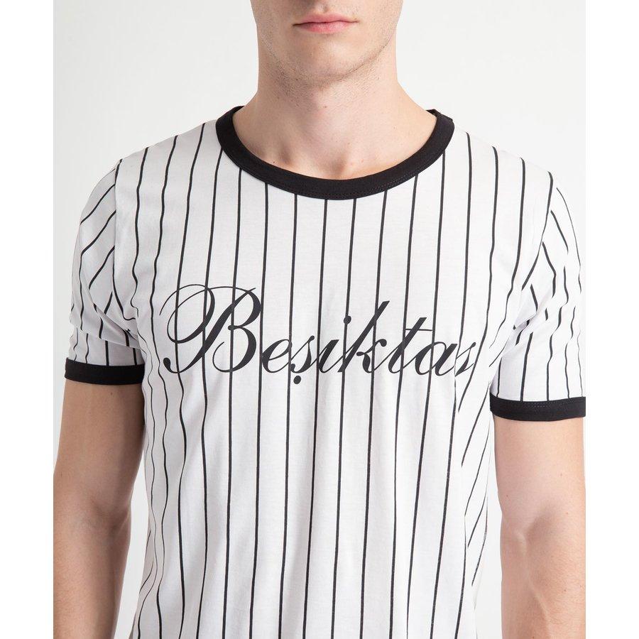 Beşiktaş Mens Modern College T-Shirt 7919121 White