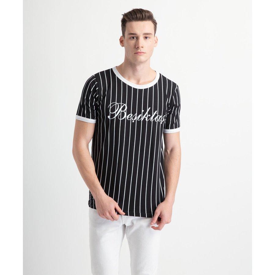 Beşiktaş Modern College T-Shirt Pour Hommes 7919121 Noir