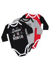 Beşiktaş Long Sleeved Baby Body Set K19-111