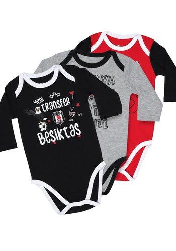 Beşiktaş Baby Langarmbodyset K19-111