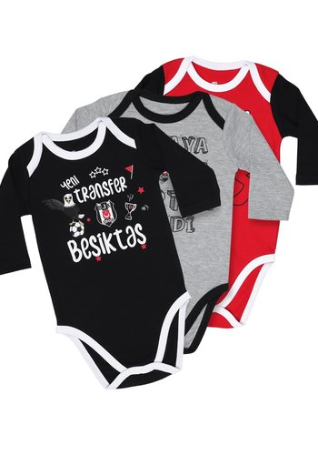 Beşiktaş Long Sleeved Baby Body Set K19-111