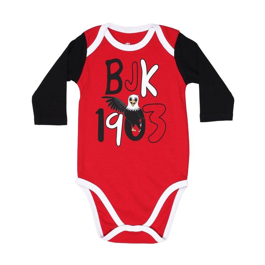 Beşiktaş Baby Body Set Lange Mouwen K19-111