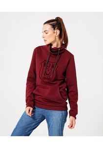 Beşiktaş Womens Logo Hooded Sweater 8920221