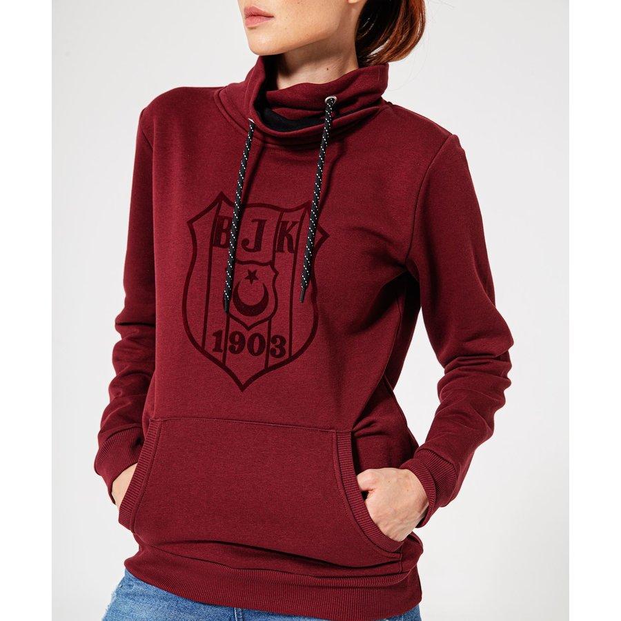 Beşiktaş Womens Logo Hooded Sweater 8920221