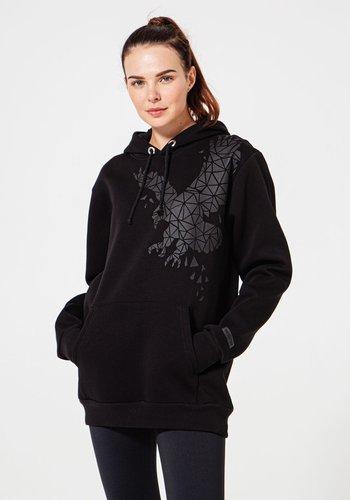 Beşiktaş Womens Tonal Eagle Hooded Sweater 8920229