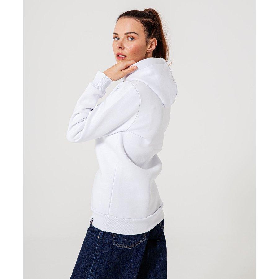 Beşiktaş Statement Hooded Sweater Dames 8920236 Wit