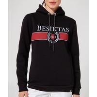 Beşiktaş Womens Statement Hooded Sweater 8920236 Black