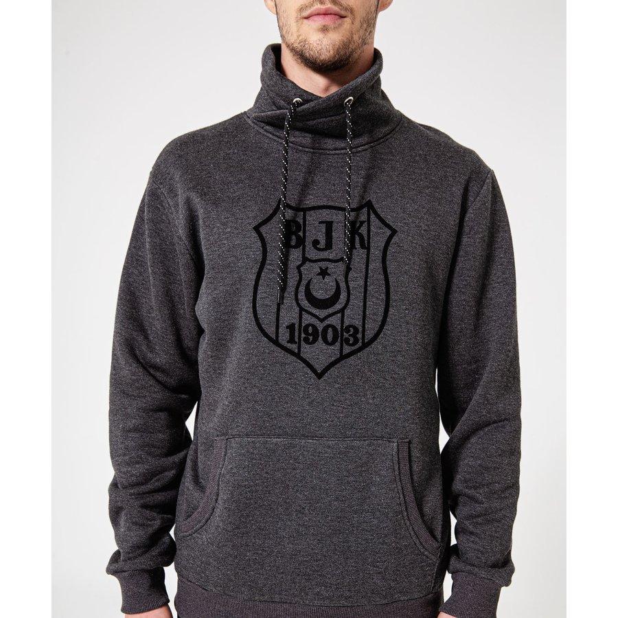 Beşiktaş Mens Logo Hooded Sweater 7920221