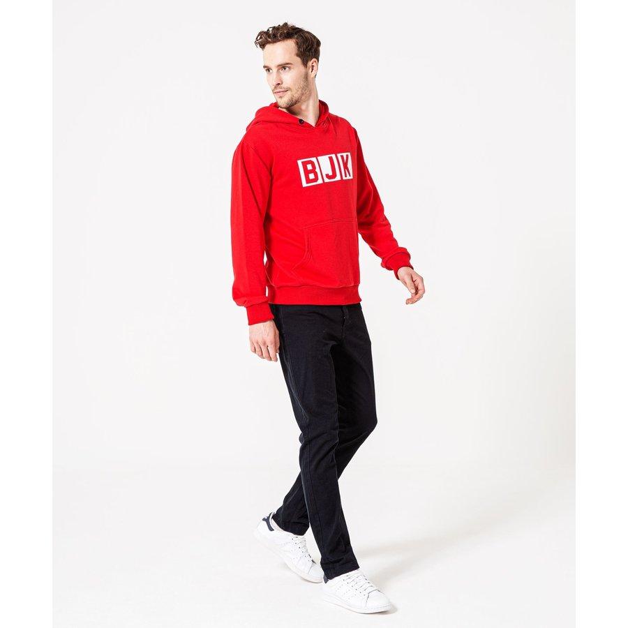 Beşiktaş 3D Print Hooded Sweater Heren 7920219 Rood