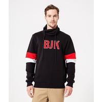 Beşiktaş Mens Color Arms Hooded Sweater 7920224 Black