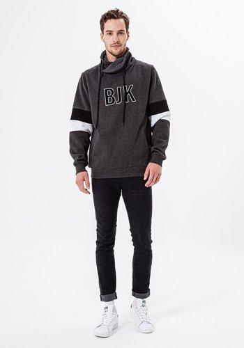 Beşiktaş Mens Color Arms Hooded Sweater 7920224