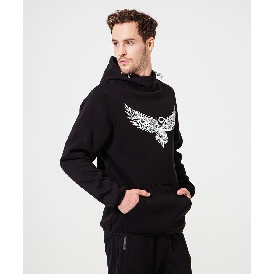 Beşiktaş 3D Eagle Hooded Sweater Heren 7920232