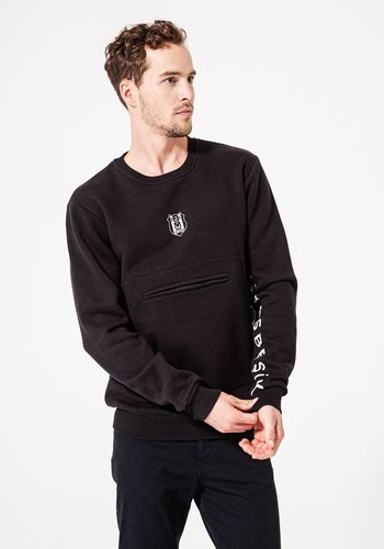 Beşiktaş Mens Arm Print Pocket Sweater 7920209