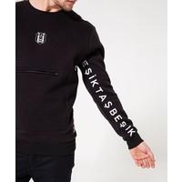 Beşiktaş Mens Arm Print Pocket Sweater 7920209