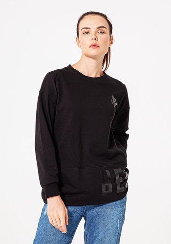 Beşiktaş Tonal Print Sweater Dames 8920213