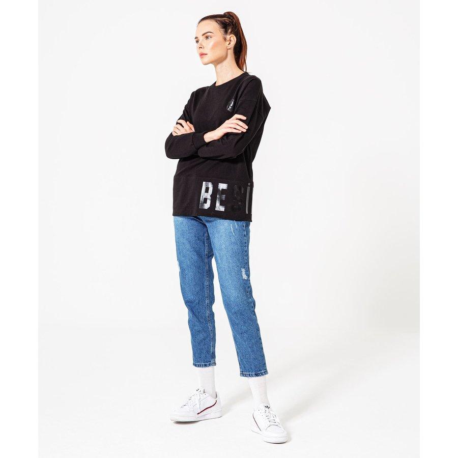 Beşiktaş Tonal Print Sweater Damen 8920213