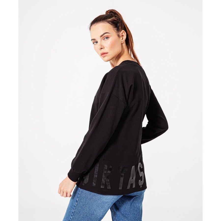 Beşiktaş Womens Tonal Print Sweater 8920214