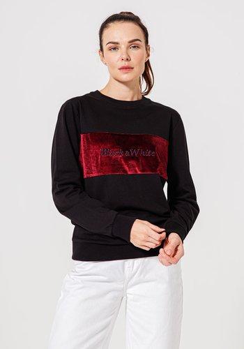 Beşiktaş B&W Sweater Damen 8920214