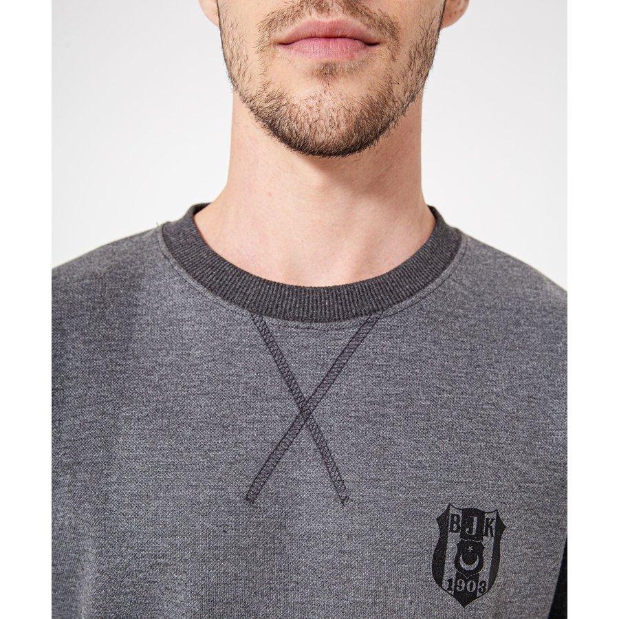 Beşiktaş Tonal Logo Sweater Heren 7920201