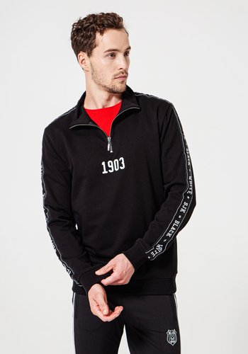 Beşiktaş Sided Half-Zip Sweater Heren 7920212