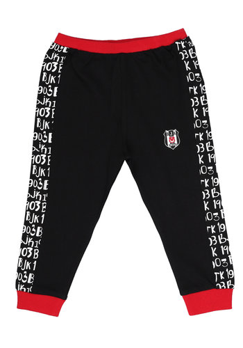 Beşiktaş Trainingsbroek Baby K19-132 Zwart-Rood
