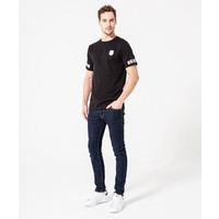 Beşiktaş Sleeve Print T-Shirt Heren 7920109 Zwart