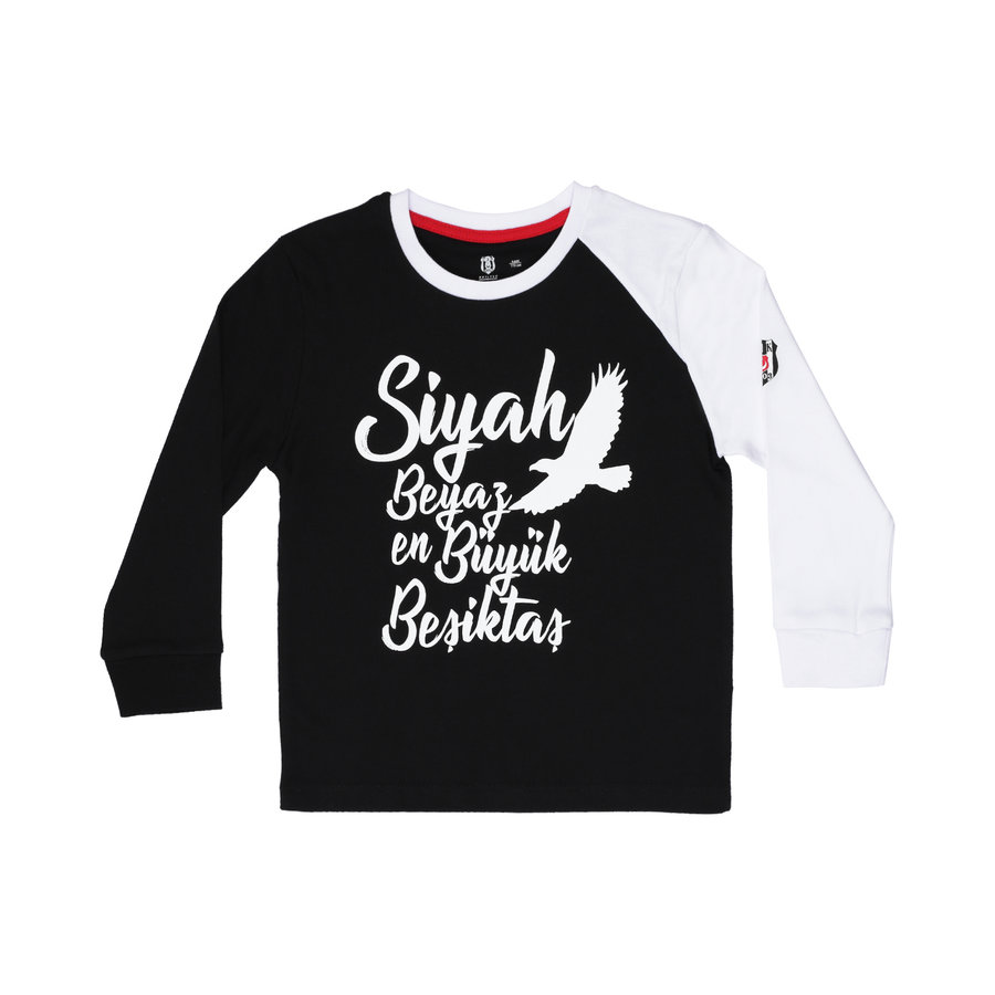 Beşiktaş Kids Long Sleeved T-Shirt K19-140