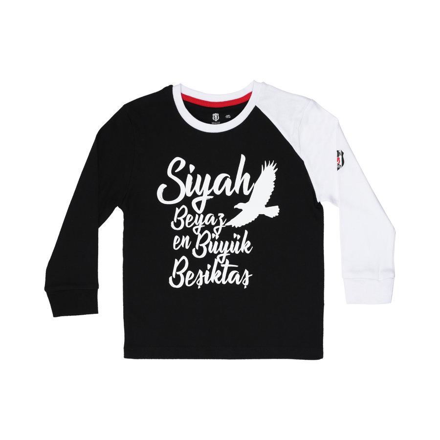 Beşiktaş Langarmshirt Kinder K19-140