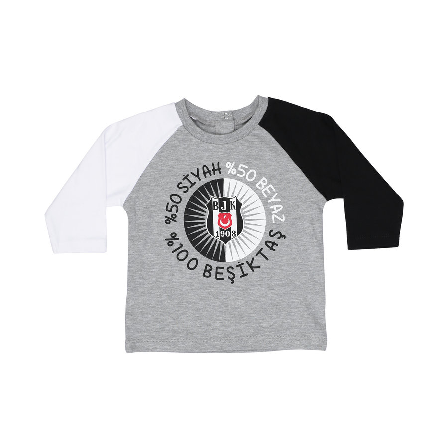 Beşiktaş T-Shirt Lange Mouwen Baby K19-131