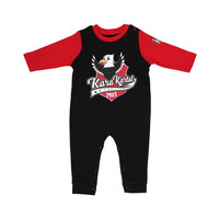 Beşiktaş Baby Rompertje K19-119 Zwart-Rood