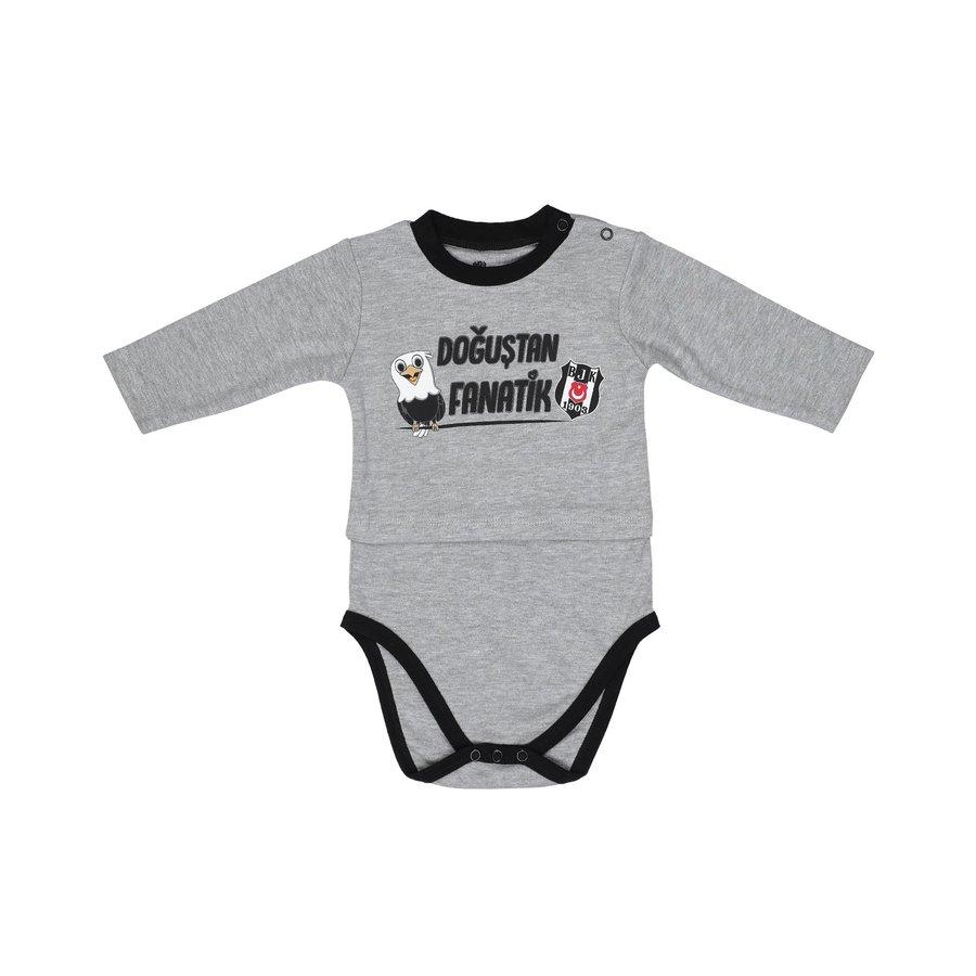 Beşiktaş Baby Body Lange Mouwen K19-103
