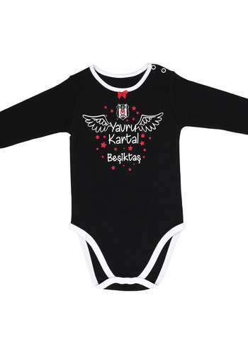 Beşiktaş Girls Baby Long Sleeved Body K19-106
