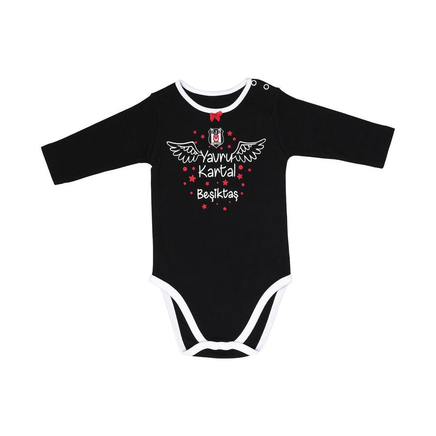 Beşiktaş Girls Baby Long Sleeved Body K19-106