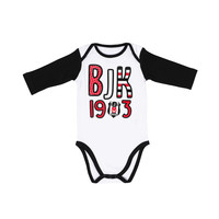 Beşiktaş Baby Long Sleeved Body K19-107 White-Black