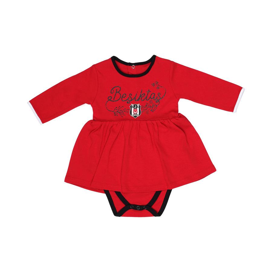 Beşiktaş Meisjes Baby Body Lange Mouwen K19-108 Rood