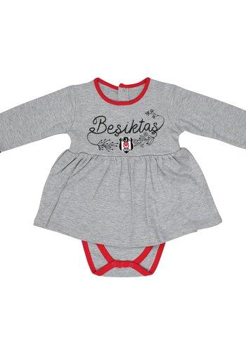 Beşiktaş Mädchen Baby Langarmbody K19-108