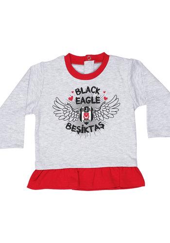 Beşiktaş Meisjes Baby T-Shirt Lange Mouwen K19-128