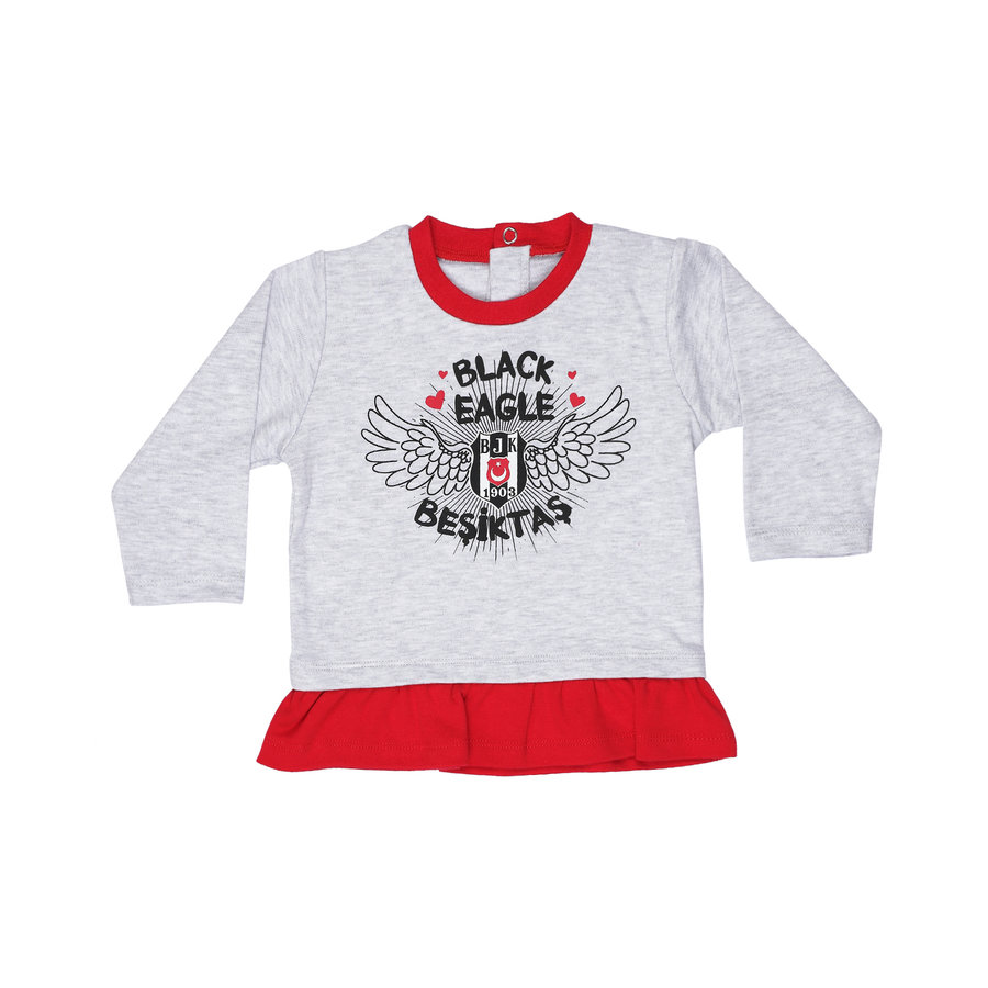 Beşiktaş Girls Baby Long Sleeved T-Shirt K19-128