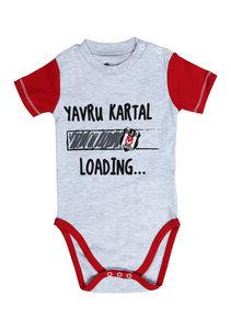Beşiktaş Baby Body korte mouwen Y20-106