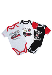 Beşiktaş Baby Kurzarmbodyset Y20-105