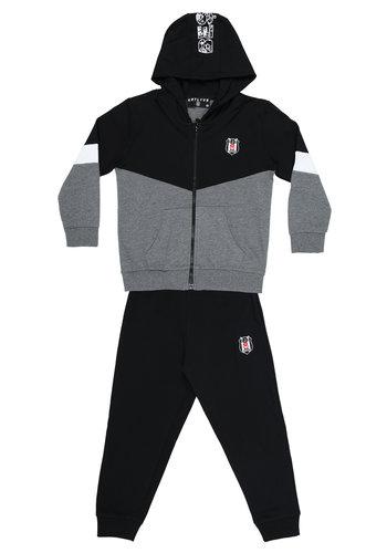 Beşiktaş Kids Hooded Tracksuit Y20-141