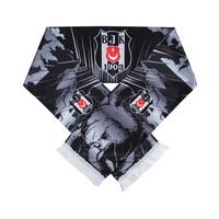 Beşiktaş Adlermuster Satin Schal 02