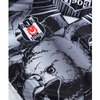 Beşiktaş Eagle Pattern Satin Scarf 02