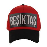 Beşiktaş Nageldruck Kappe 03 Rot