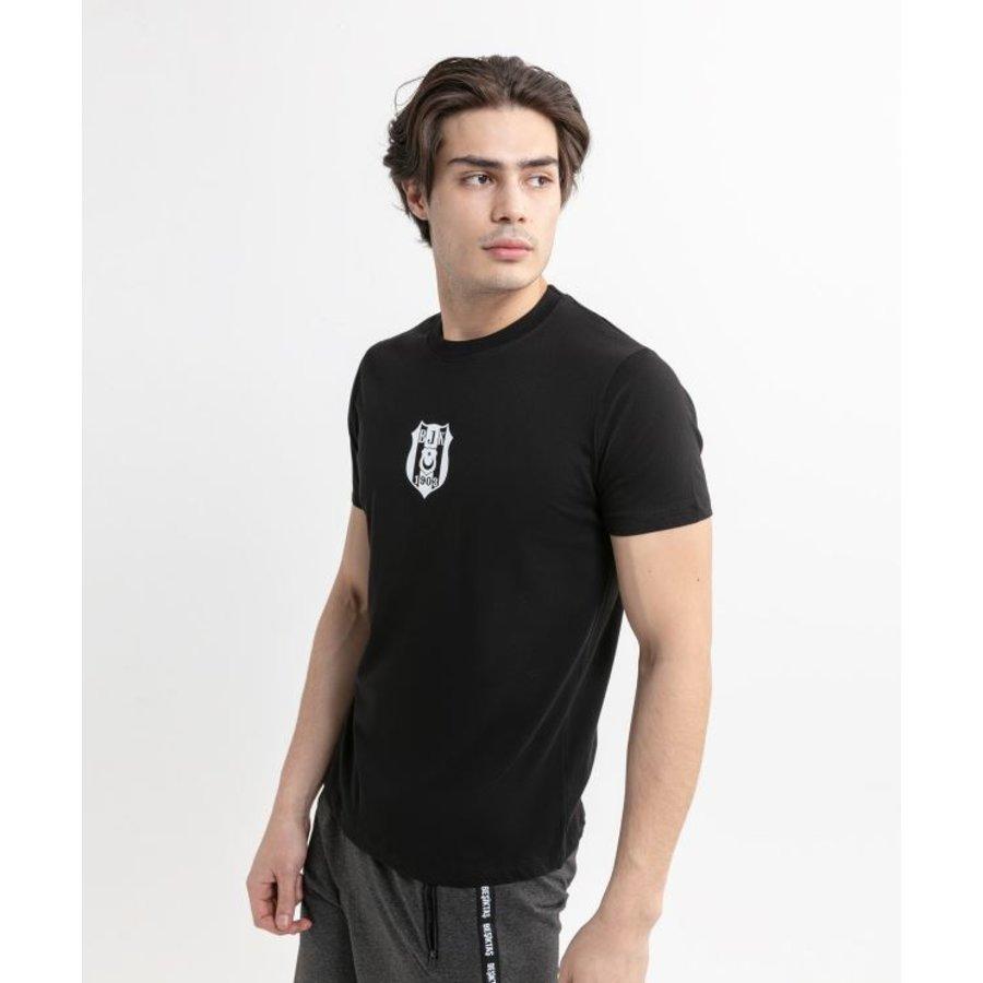 Beşiktaş Basic Logo T-Shirt Heren 7020101