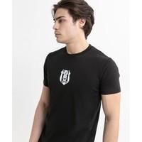 Beşiktaş Mens Basic Logo T-Shirt 7020101